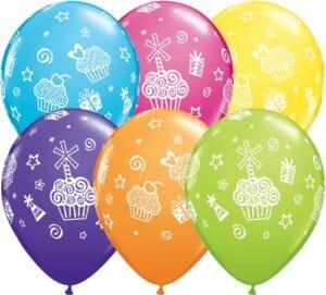 Luftballon Cupcakes