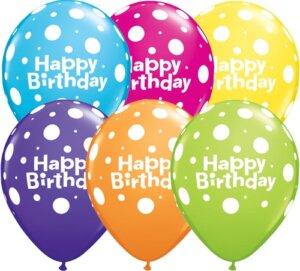 Luftballon Happy Birthday