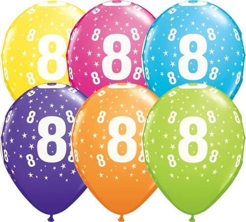 8 Geburtstag