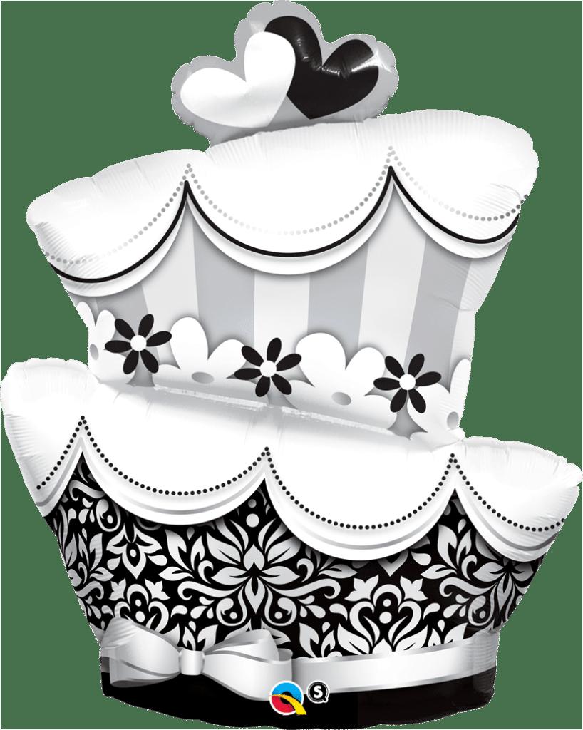 ballon torte hochzeitstorte lufties ballons. Black Bedroom Furniture Sets. Home Design Ideas