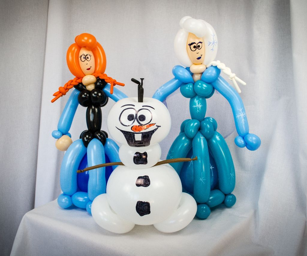 eisk nigin elsa anna und schneemann olaf lufties ballons. Black Bedroom Furniture Sets. Home Design Ideas