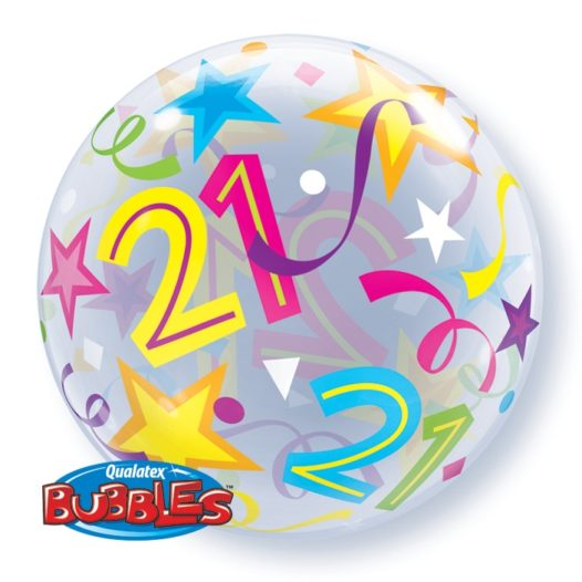 Luftballon 21. Geburtstag