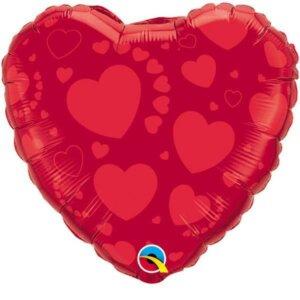 Herz mit Herzen 38 cm