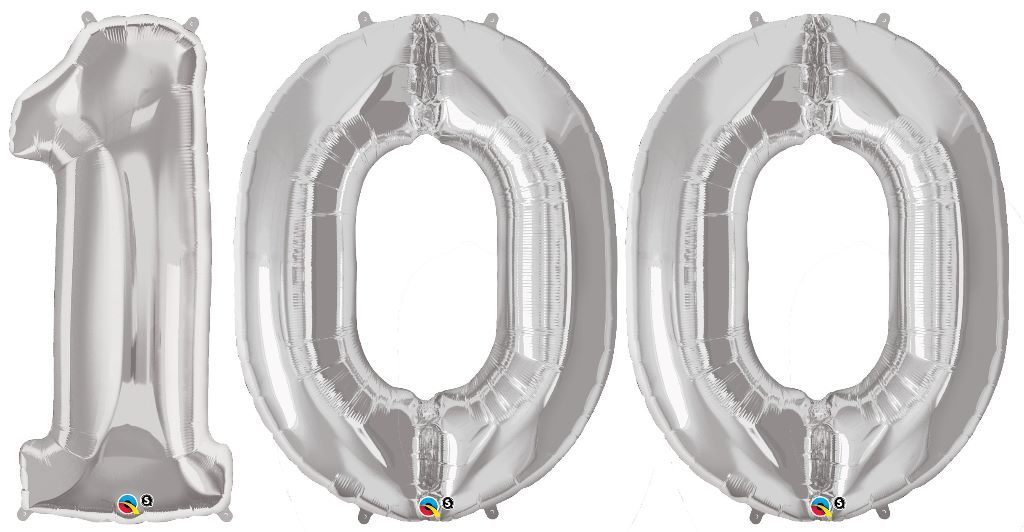 Riesen Luftballon Zahl 100 85 Cm