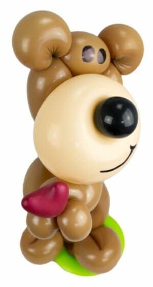 Teddy mit Herz Luftballonfigur