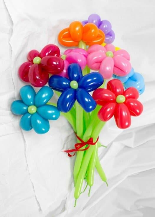 Blumenstrauss aus Luftballons