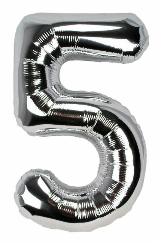 Geburtstagszahl 5 Luftballon