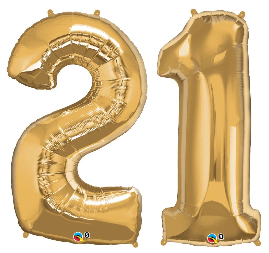 Geburtstag luftballons 21