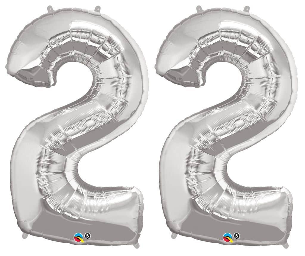 Afbeeldingsresultaat voor 22 ballon