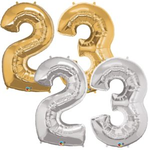 Riesen Zahl Zahlenballon 23 Jahre