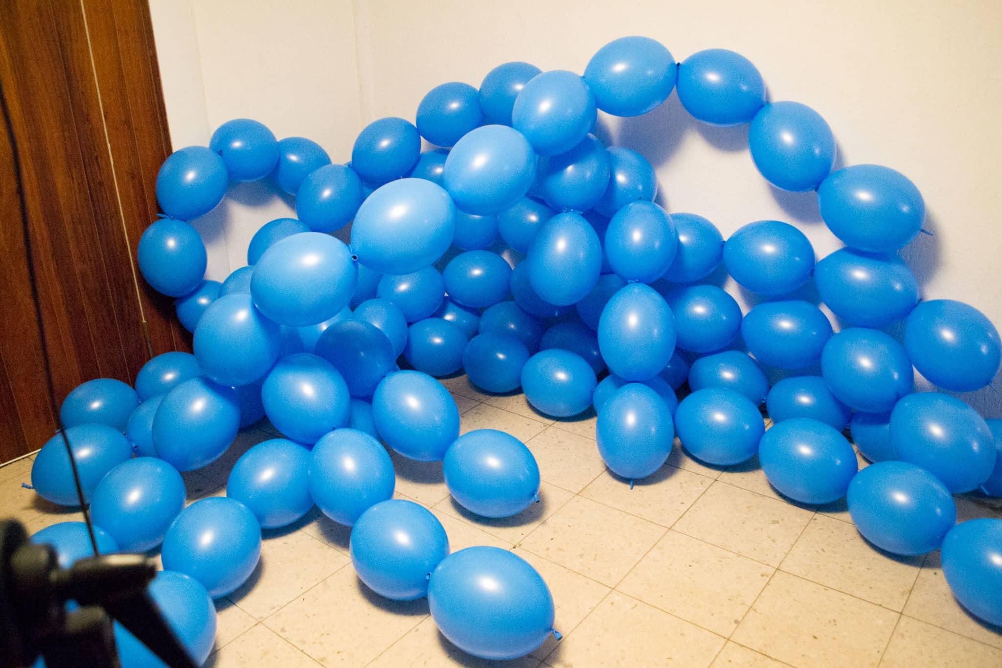 Entstehung Luftballon Fotostudio Kinderfotograf Bild 03