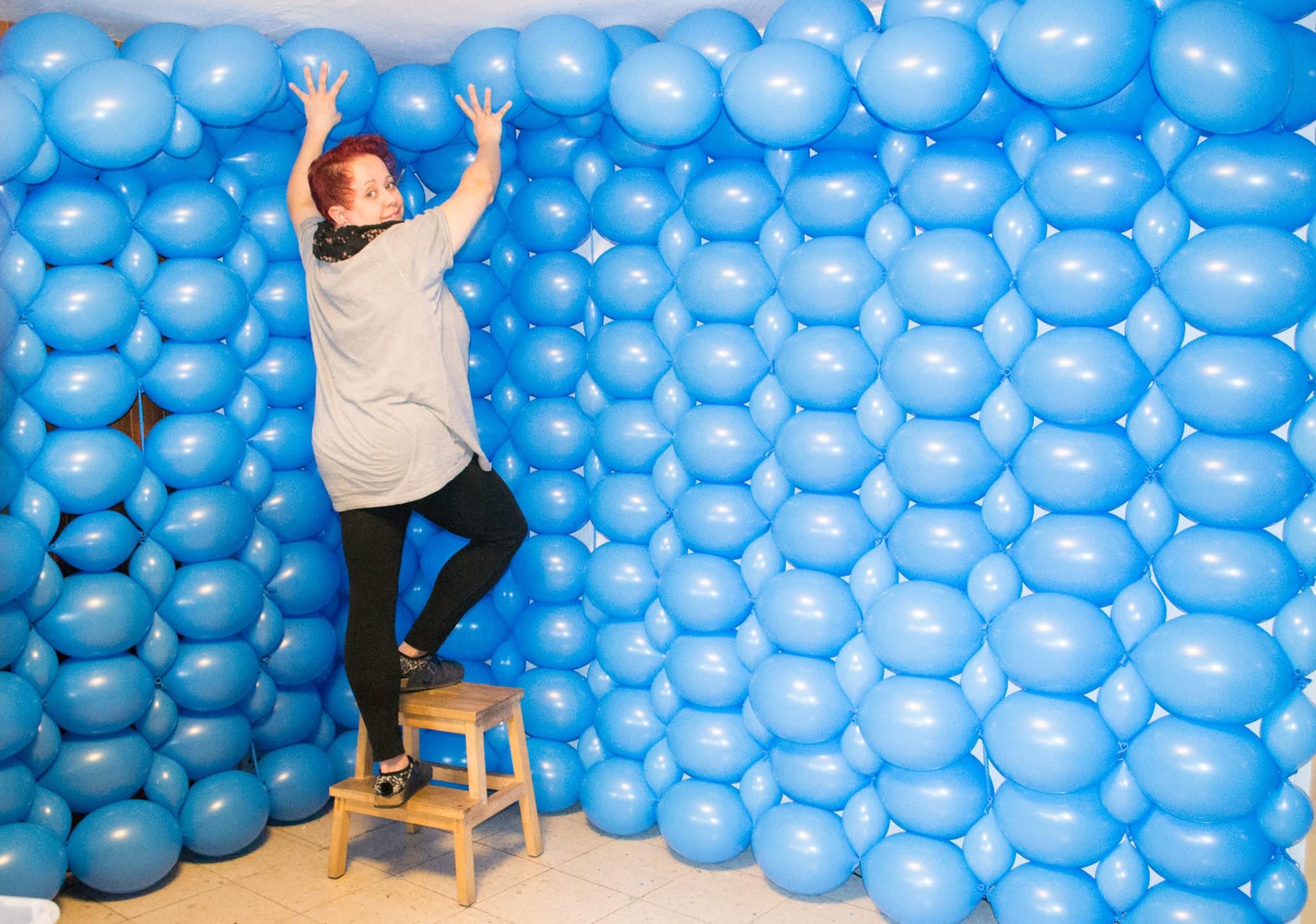 Entstehung Luftballon Fotostudio Kinderfotograf Bild 08