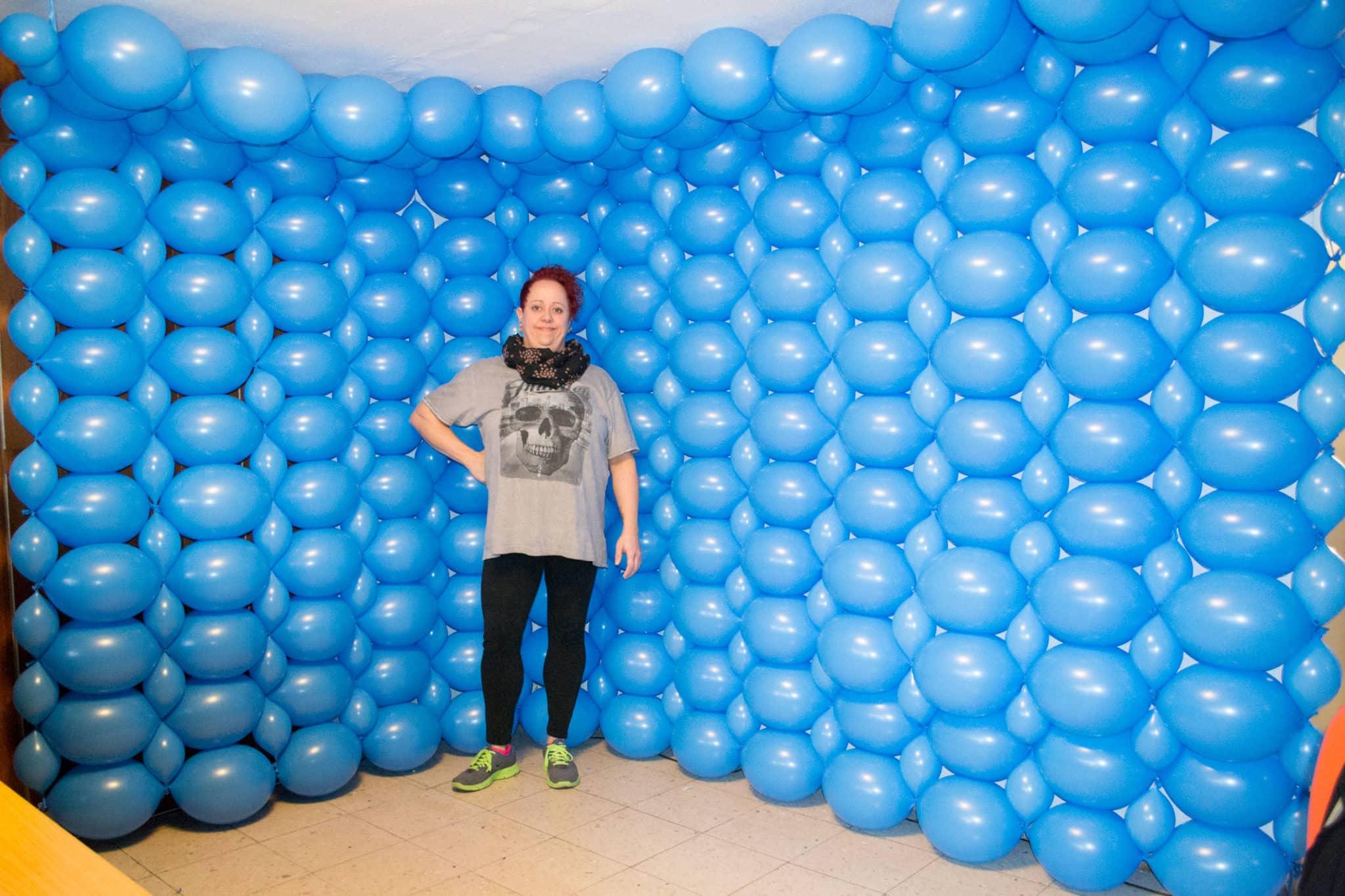 Entstehung Luftballon Fotostudio Kinderfotograf Bild 09