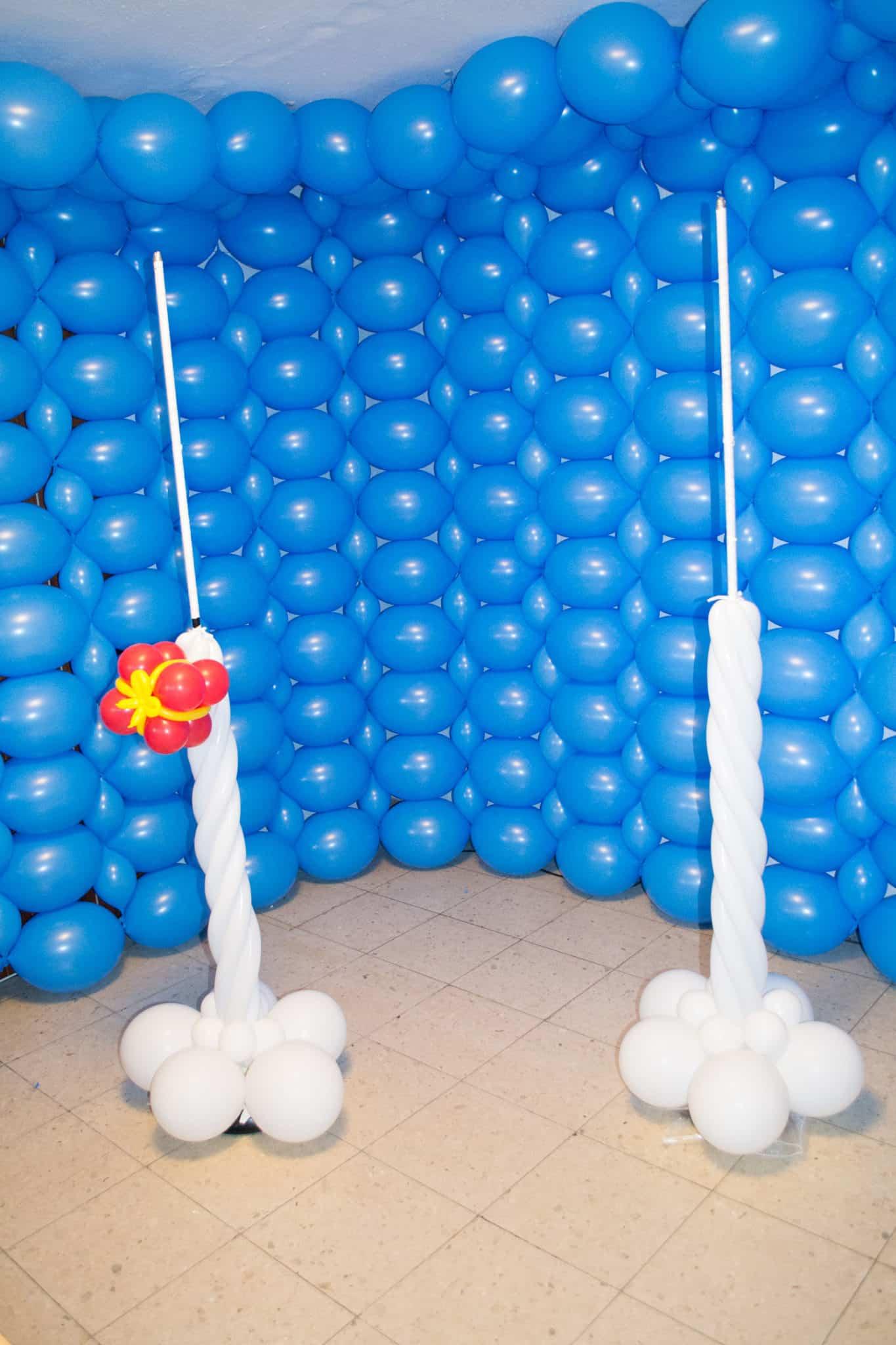 Entstehung Luftballon Fotostudio Kinderfotograf Bild 10