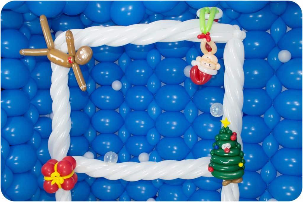 Fotorahmen Weihnachten - Lufties-Ballons