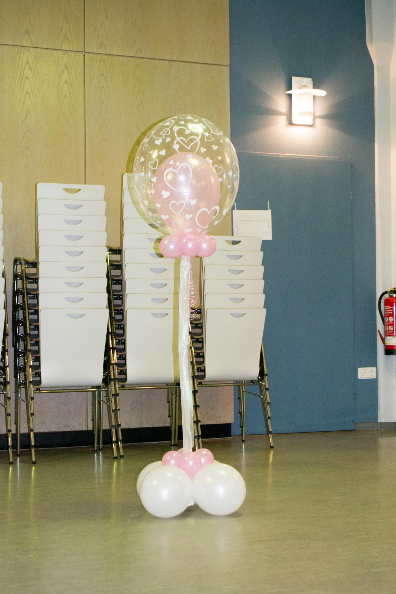 Dekoration aus luftballons lufties ballons - Luftballon deko ...