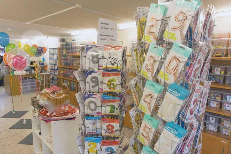 Ladengeschäft Lufties-Ballons Innenansicht Bild 2