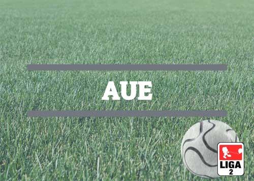 Luftballons zur Fussballmannschaft aus Aue