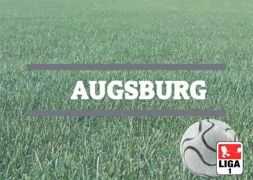 Luftballons zur Fussballmannschaft aus Augsburg
