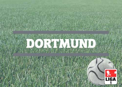 Luftballons zur Fussballmannschaft aus Dortmund