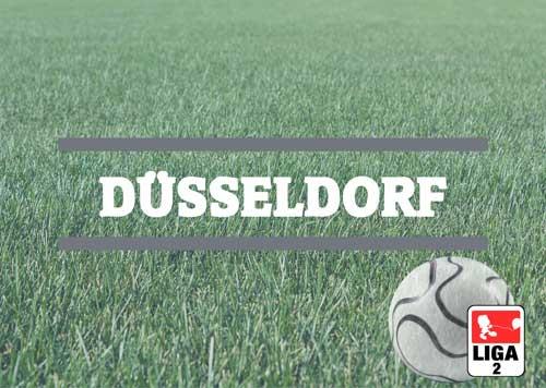 Luftballons zur Fussballmannschaft aus Düsseldorf
