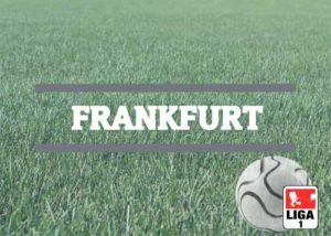 Luftballons zur Fussballmannschaft aus Frankfurt