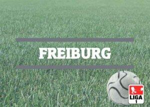 Luftballons zur Fussballmannschaft aus Freiburg
