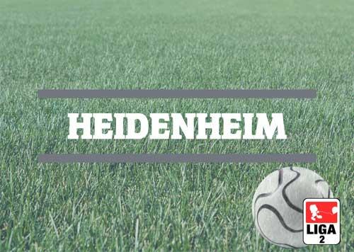 Luftballons zur Fussballmannschaft aus Heidenheim