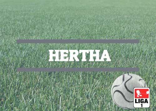 Luftballons zur Fussballmannschaft der Hertha