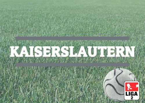 Luftballons zur Fussballmannschaft aus Kaiserslautern
