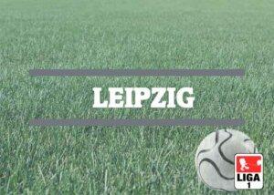 Luftballons zur Fussballmannschaft aus Leipzig