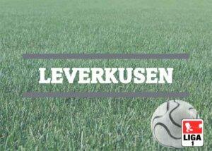 Luftballons zur Fussballmannschaft aus Leverkusen