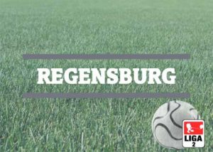 Luftballons zur Fussballmannschaft aus Regensburg