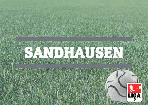 Luftballons zur Fussballmannschaft aus Sandhausen