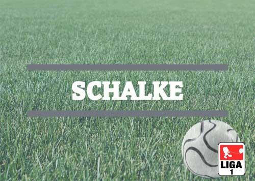 Luftballons zur Fussballmannschaft aus Schalke