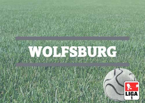 Luftballons zur Fussballmannschaft aus Wolfsburg