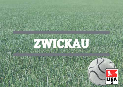 Luftballons zur Fussballmannschaft aus Zwickau