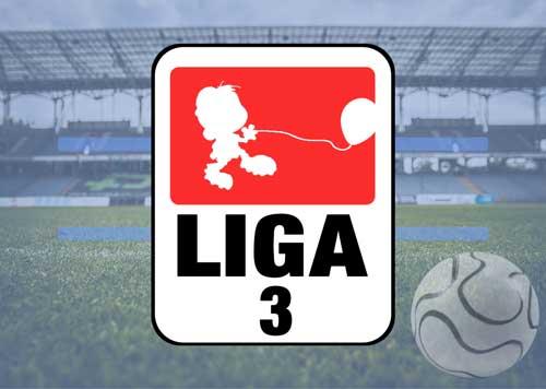 Luftballons zu den Mannschaften der 3. Liga