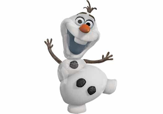 Olaf Schneemann Frozen Folienfigur (58 cm)