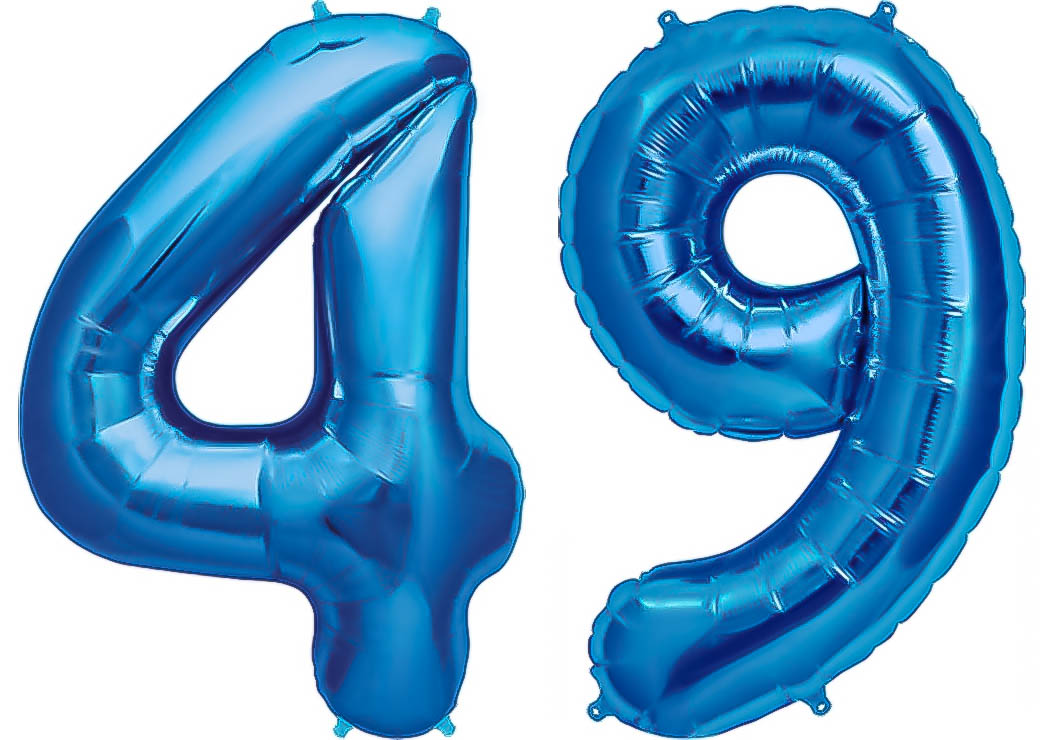 !! für Helium Farbe Blau Inhalt 10 Ballons !!! Herzballon Folienballon