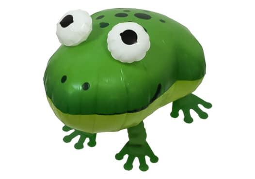 Grüner Frosch Airwalker