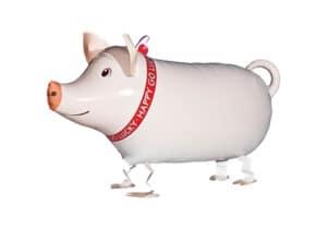 Schwein Glücksschwein Airwalker