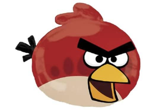Angry Birds Vogel rot Luftballon