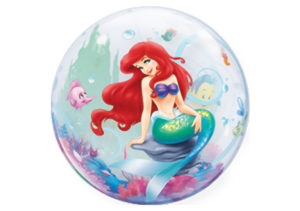 Arielle Meerjungfrau Luftballon Bubble