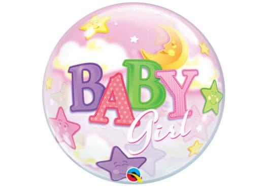 Baby Girl - Luftballon zur Geburt Mädchen