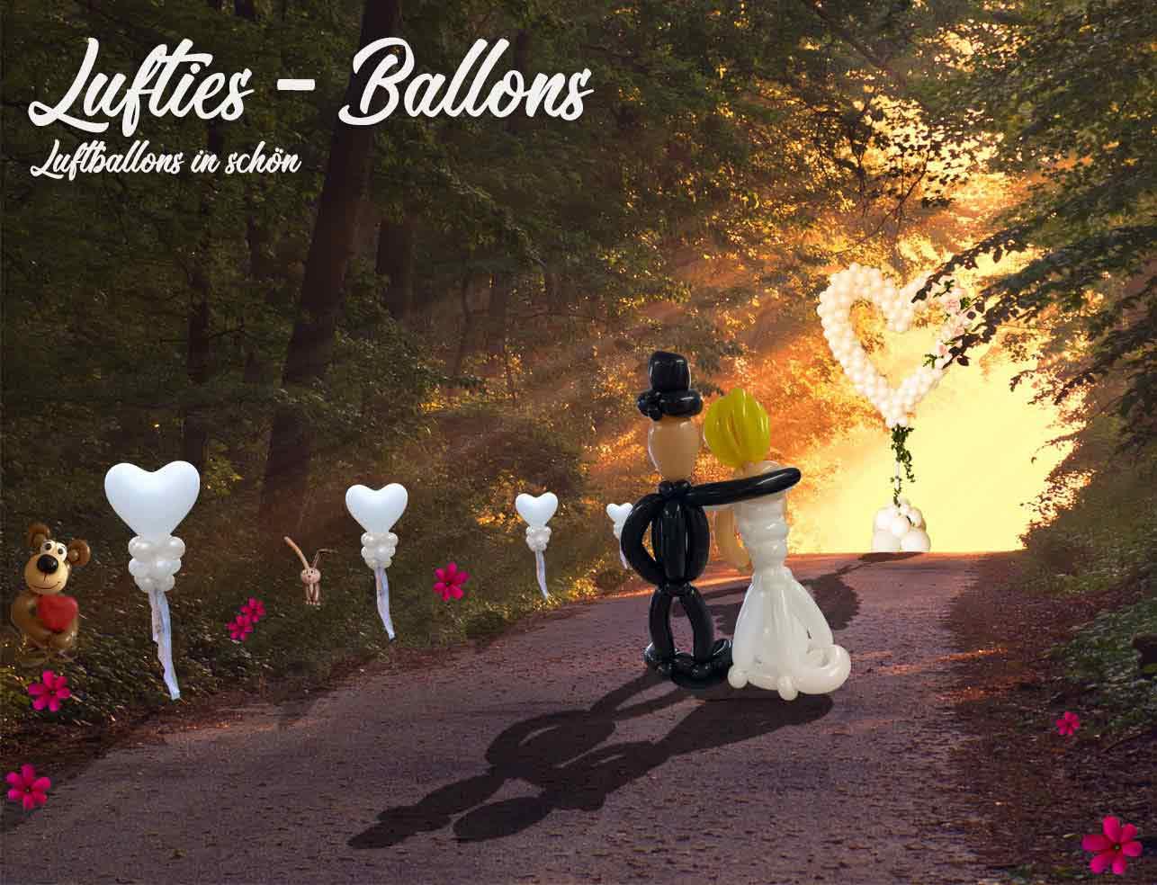 Lufties- Ballons - Luftballons in schön