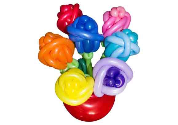 Blumenstrauss-aus-Luftballons-in-Vase-7-Blumen-2