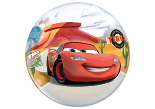 Cars Lightning McQueen Luftballon Bubble
