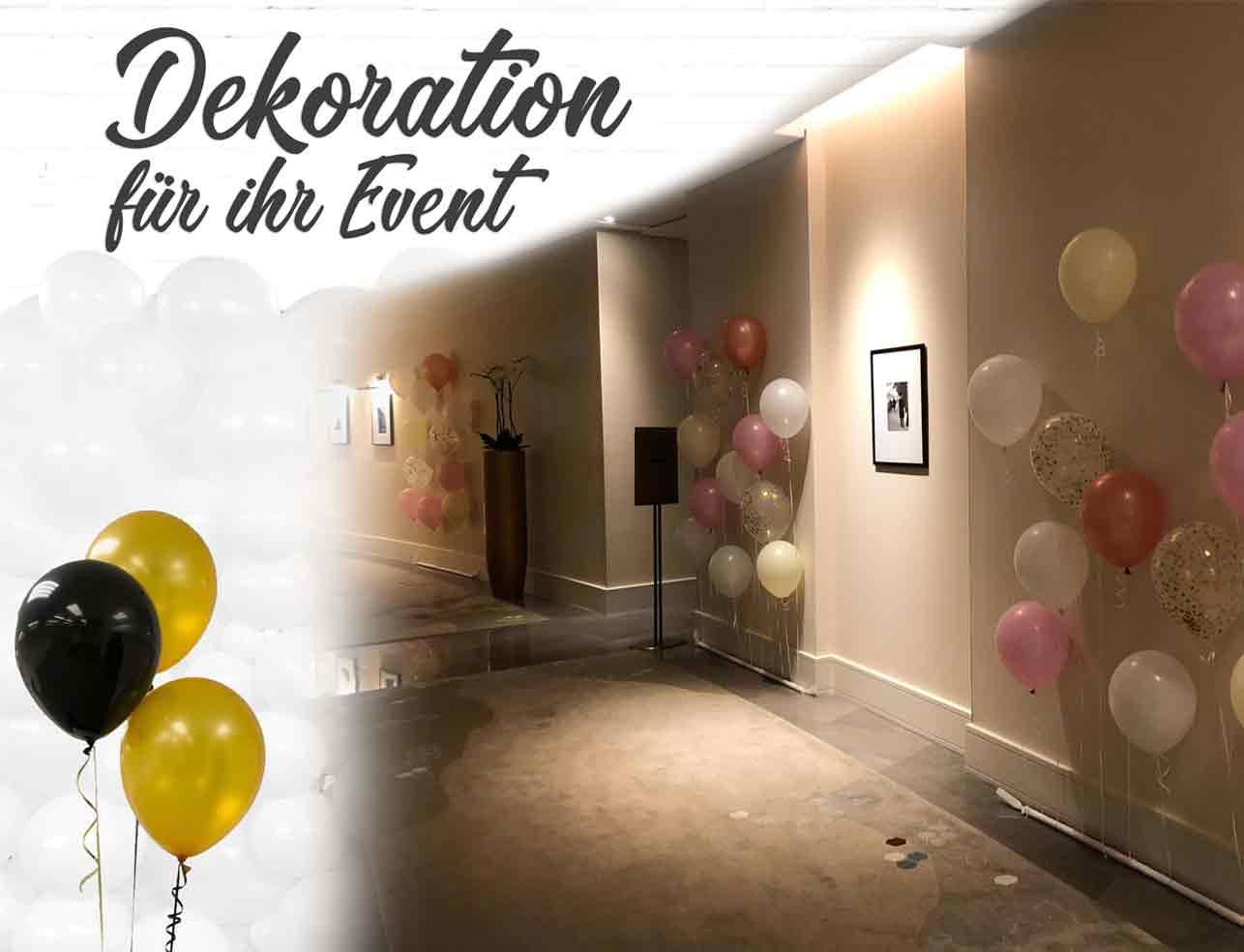 Dekoration für Ihr Event