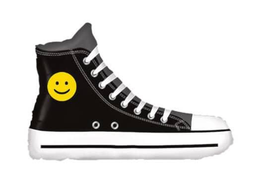 Sneaker Schuh mit Smiley Luftballon